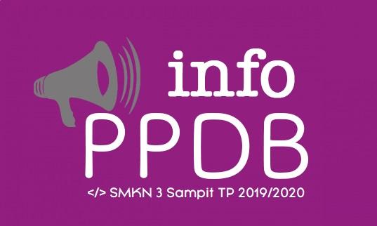 INFORMASI PPDB SMK NEGERI 3 SAMPIT TAHUN PELAJARAN 2019/2020