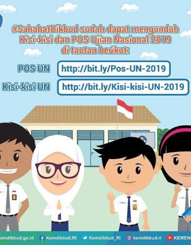Kisi-Kisi dan POS UN 2019/2020