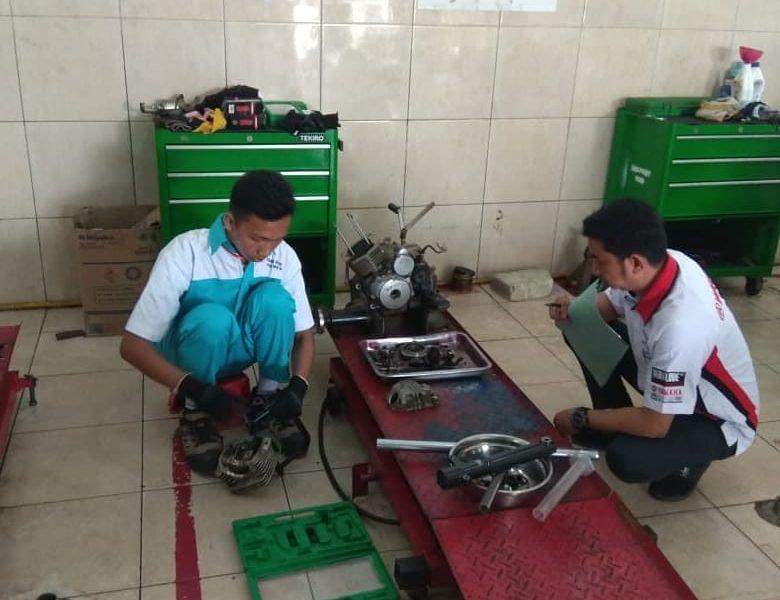 LKS perdana tingkat Kab. thn 2020 bidang lomba Welding dan Motorcycle Repair and Maintenance