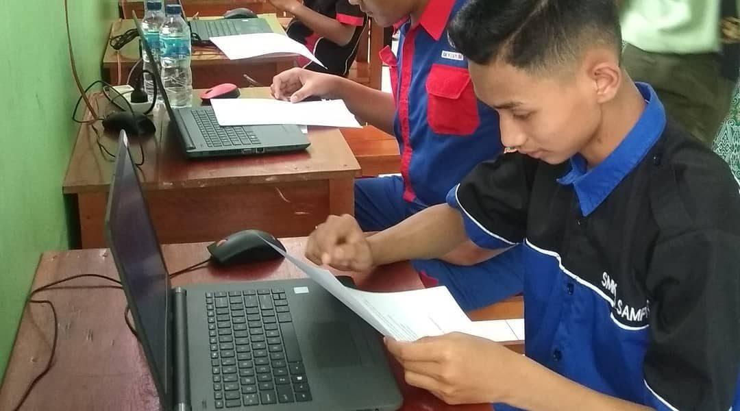 Lomba LKS Jurusan Multimedia Tk Kab Juara1 lanjut Provinsi