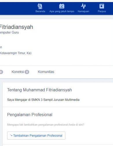 Daftar Profile Guru di Edmodo